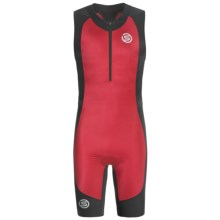 Skins Tri400 Compression Triathlon Suit - UPF 50+ (For Men) in Red/Black - Closeouts