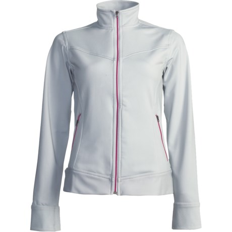 Skirt Sports 10:05 Jacket - Stretch Fleece (For Women) in Light Seattle Grey