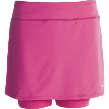 Skirt Sports Breezer Bike Girl Skort - Built-In Shorts with Chamois (For Women) in Pink Crush - Closeouts