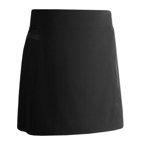 Skirt Sports Cruiser Bike Girl BIke Skort - Bulit-In Chamois (For Women) in Black