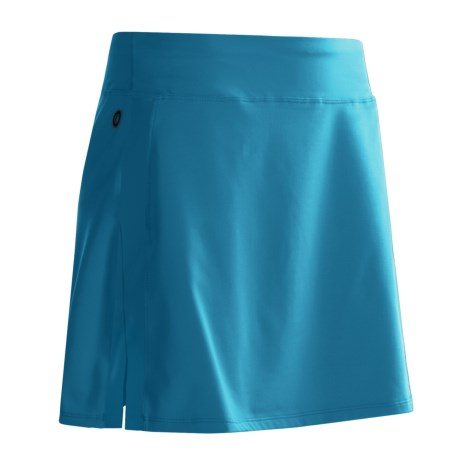 Skirt Sports Cruiser Bike Girl Cycling Skort - Bulit-In Chamois (For Women) in Blue Horizon