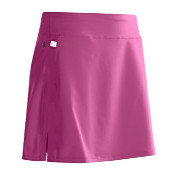 Skirt Sports Cruiser Bike Girl Cycling Skort - Bulit-In Chamois (For Women) in Pink Crush