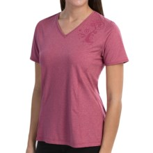 Skirt Sports Easy Ride Shirt - Short Sleeve (For Women) in Sangria - Closeouts