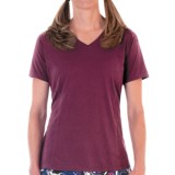 Skirt Sports Free Me T-Shirt - V-Neck, Short Sleeve (For Women)
