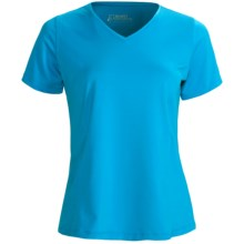 Skirt Sports Free Me T-Shirt - V-Neck, Short Sleeve (For Women) in Blue Crush - Closeouts