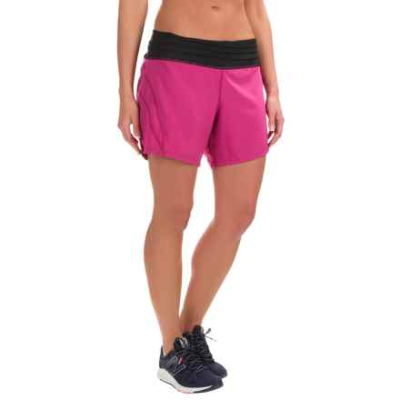 Skirt Sports Go Longer Shorts - Built-In Briefs (For Women) in Razz - Closeouts