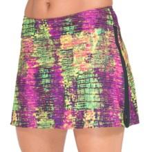 Skirt Sports Gym Girl Ultra Skirt (For Women) in Snake Charmer Print - Closeouts