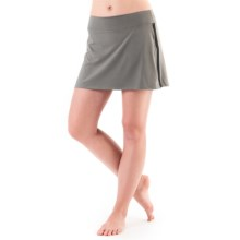 Skirt Sports Gym Girl Ultra Skirt (For Women) in Sterling - Closeouts