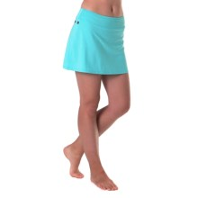 Skirt Sports Gym Girl Ultra Skort - Built-In Shorts (For Women) in Blue Ice - Closeouts