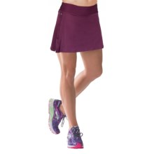 Skirt Sports Gym Girl Ultra Skort - Built-In Shorts (For Women) in Bordeaux - Closeouts