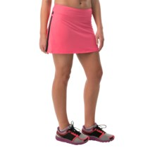 Skirt Sports Gym Girl Ultra Skort - Built-In Shorts (For Women) in Flirt - Closeouts