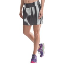 Skirt Sports Gym Girl Ultra Skort - Built-In Shorts (For Women) in Gotham Print - Closeouts