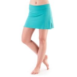 Skirt Sports Gym Girl Ultra Skort - Built-In Shorts (For Women) in Surf