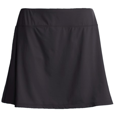 Skirt Sports Gym Girl Ultra Skort (For Women) in Black