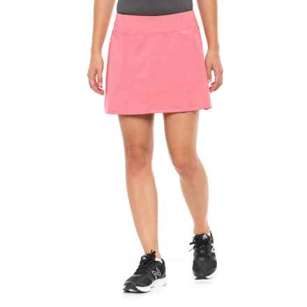 Skirt Sports Gym Girl Ultra Skort (For Women) in Flirty Heather - Closeouts