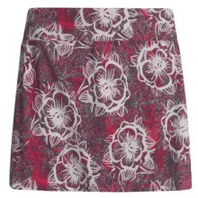 Skirt Sports Gym Girl Ultra Skort (For Women) in Red Kiss Play Print - Closeouts