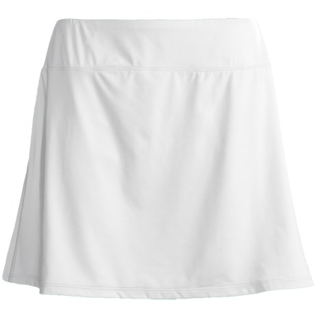 Skirt Sports Gym Girl Ultra Skort (For Women) in White