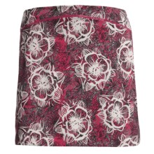 Skirt Sports Happy Girl Skirt (For Women) in Red Kiss Play Print - Closeouts