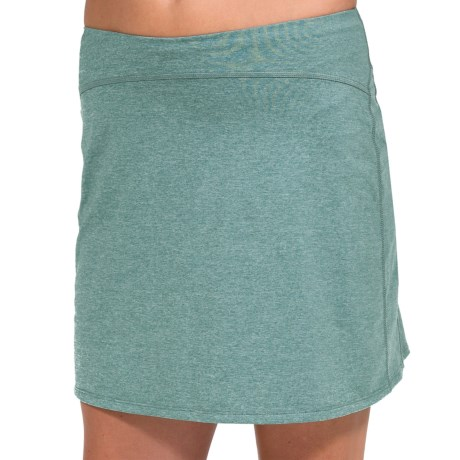Skirt Sports Happy Girl Skirt (For Women) in Teal Heather