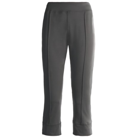 Skirt Sports Happy Hour Capris - Recycled Materials (For Women) in Seattle Gray
