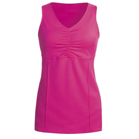 Skirt Sports Happy Hour Tank Top (For Women) in Pink Crush