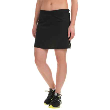 Skirt Sports High Five Running Skirt - Built-in Shorts (For Women) in Black - Closeouts