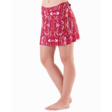 Skirt Sports High Five Running Skirt - Built-in Shorts (For Women) in Ignite Print - Closeouts