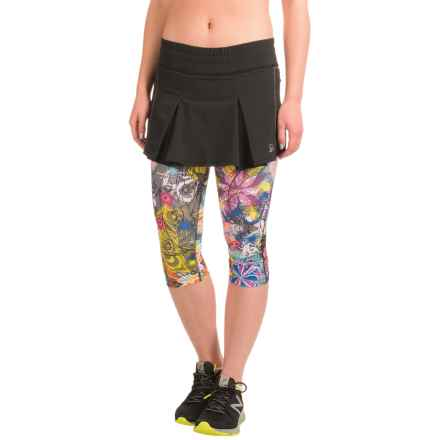 Skirt Sports Jette Capris Skirt (For Women) in Tantrum - Closeouts