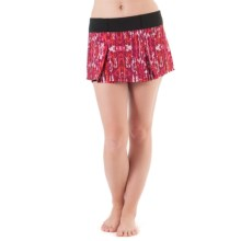 Skirt Sports Jette Skirt - Built-In Shorts (For Women) in Ignite Print - Closeouts