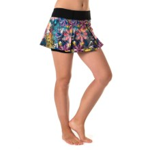Skirt Sports Jette Skirt - Built-In Shorts (For Women) in Tantrum Print - Closeouts