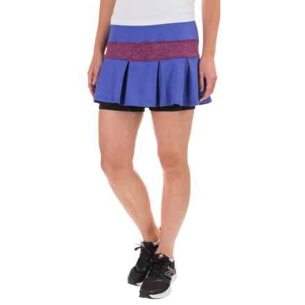 Skirt Sports Lioness Skort - Built-In Shorts (For Women) in Marine Razz Stardust - Closeouts