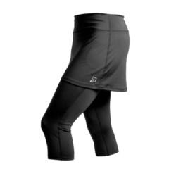 Skirt Sports Lotta Breeze Capri Skirt (For Women) in Aberdeen Print/Black