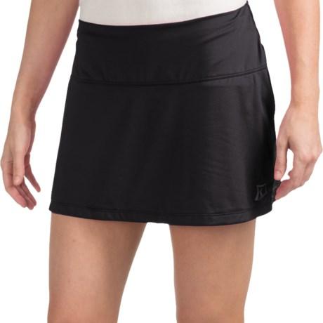 Skirt Sports Marathon Chick Skort - Built-In Briefs (For Women) in Black