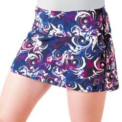 Skirt Sports Marathon Chick Skort - Built-In Briefs (For Women) in Untamed Print