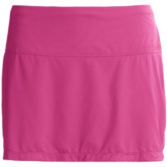 Skirt Sports Marathon Chick Skort - Built-In Briefs (For Women) in Pink Crush