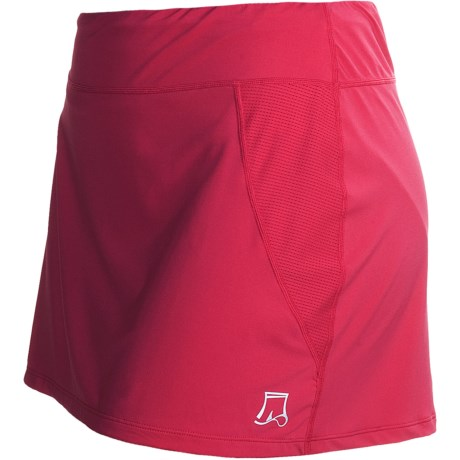 Skirt Sports Marathon Girl Ultra Sports Skort (For Women) in Red Kiss