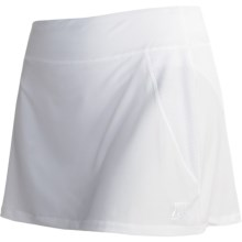 Skirt Sports Marathon Girl Ultra Sports Skort (For Women) in White - Closeouts
