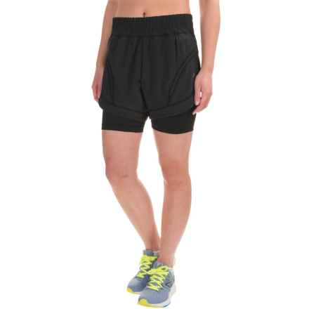Skirt Sports Not-So-Cheeky Shorts (For Women) in Black - Closeouts