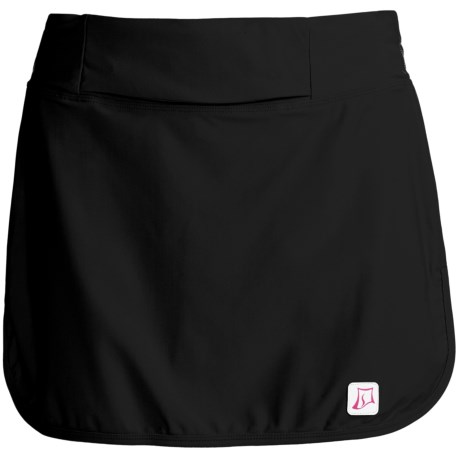 Skirt Sports Race Belt Skirt (For Women) in Black