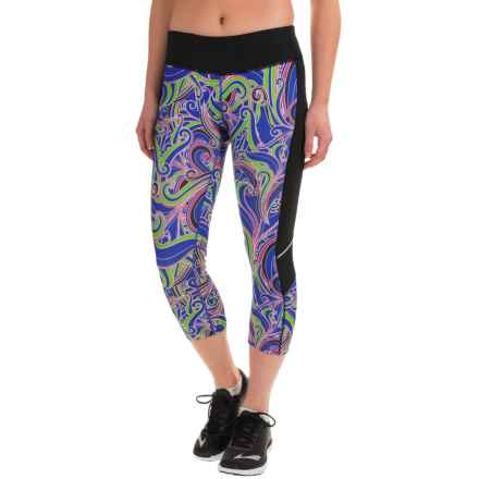 Skirt Sports Redemption Capris (For Women) in Free Love Black - Closeouts