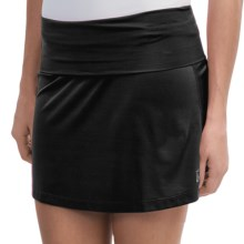 Skirt Sports Roll Down Skirt (For Women) in Black - Closeouts