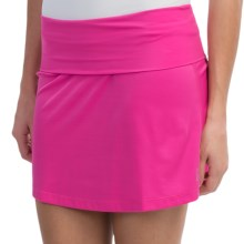 Skirt Sports Roll Down Skirt (For Women) in Pink Crush - Closeouts