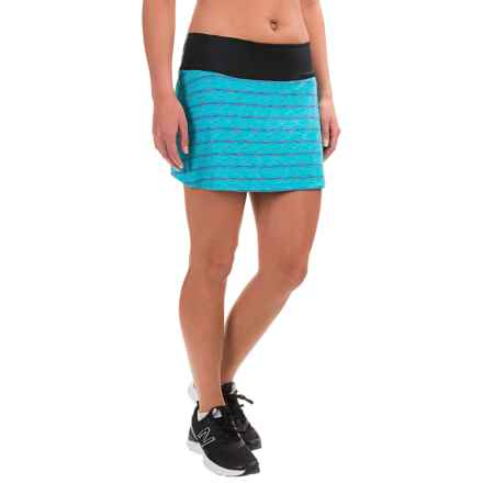 Skirt Sports Roller Skirt - Built-In Boy Shorts (For Women) in Reflection - Closeouts