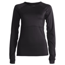 Skirt Sports Runners Dream Shirt - Long Raglan Sleeves (For Women) in Black - Closeouts