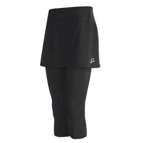 Skirt Sports Spinnin' Cycling Pants (For Women) in Black