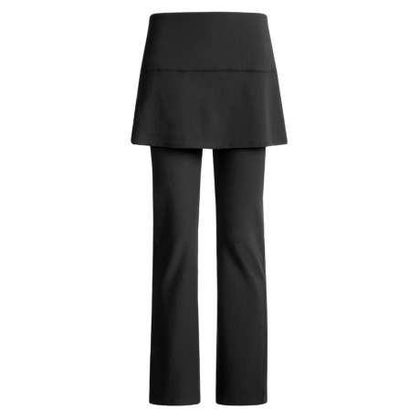 Skirt Sports Tough Girl Skirt with Attached Pants (For Women) in Black/Black