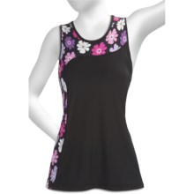 Skirt Sports Twilight Tank Top (For Women) in Black/Kendall Print - Closeouts
