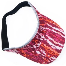Skirt Sports Visor (For Women) in Ignite Print - Closeouts