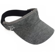 Skirt Sports Visor (For Women) in Shadow Heather - Closeouts