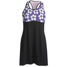 Skirt Sports Wonder Girl Tank Dress (For Women) in Black/Kendall Daisy Print - Closeouts